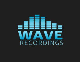 nº 172 pour Logo for Wave Recordings par Pospa