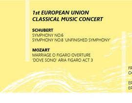 mmartinpozuelo tarafından Poster for a Classical Music Concert için no 27