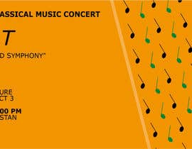 marygiografica tarafından Poster for a Classical Music Concert için no 33