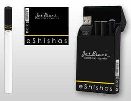 #13 for Design a Logo for JetBlack eShishas by xahe36vw