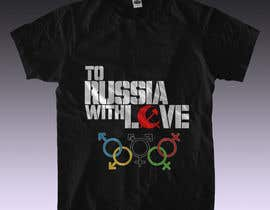 nº 8 pour Design a T-Shirt for Gay Participation in the Olympic Games par rmissin