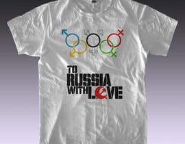 #9 para Design a T-Shirt for Gay Participation in the Olympic Games por rmissin