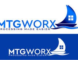 #222 for **** Create and AMAZING logo for our mortgage loan processing company MTGWorx  :-) by llewlyngrant