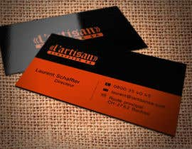 #23 cho Design some Business Cards for my company, color Orange/Black bởi regionmym