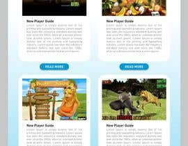 Chandu87 tarafından Design an email template for Game Newsletter için no 44