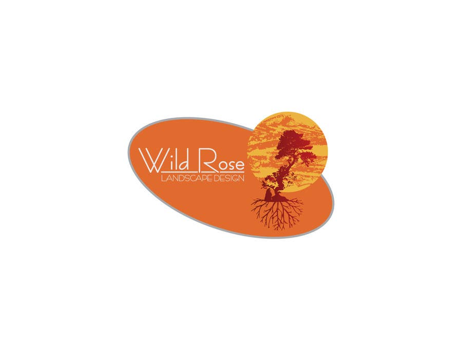 Contest Entry #6 for WildRose Landscaping Logo Design Contest