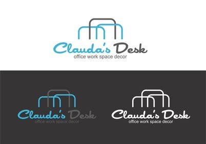 #34 for Design a Logo for Claudia's Desk by eltorozzz