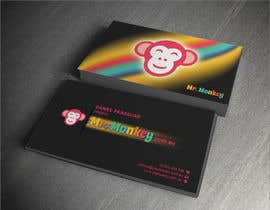 #11 para Design Business Cards for Mr. Monkey por dalizon
