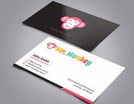 #21 para Design Business Cards for Mr. Monkey por ezesol
