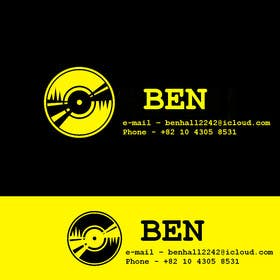 #8 untuk Logo and business card for DJ oleh cristinandrei