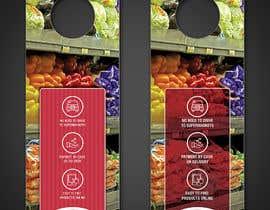#5 for Creative door handle flyer design by m99