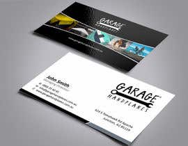 nº 36 pour Design some Business Cards for Garage Handplanes par ezesol