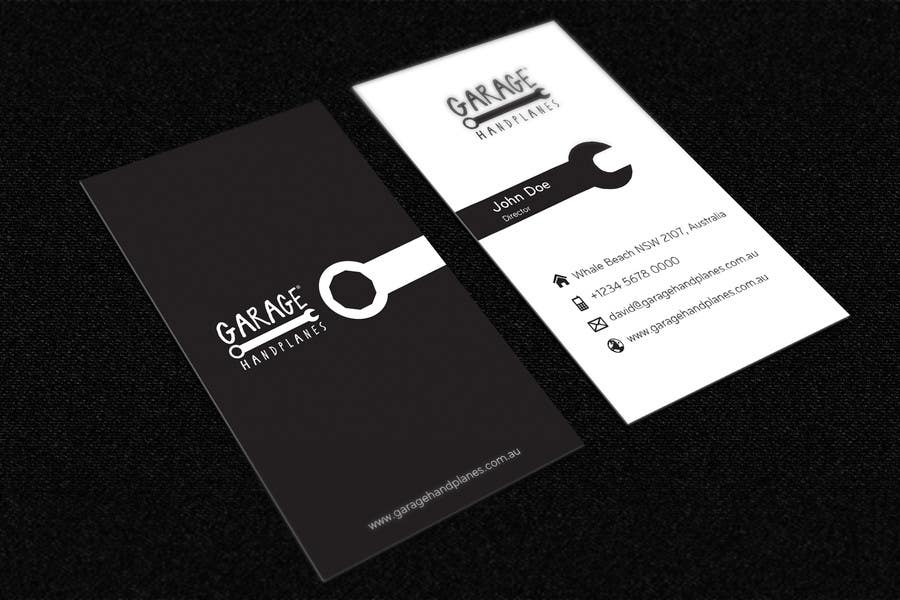 Bài tham dự cuộc thi #31 cho Design some Business Cards for Garage Handplanes