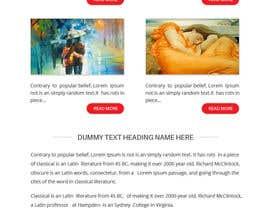 Nro 5 kilpailuun E-Mai Tamplate Deisgn and pixel perfect in HTML käyttäjältä rajdesign2009