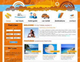 #13 untuk LAYOUT FOR  ONLINE TRAVEL AGENCY oleh rshalder90