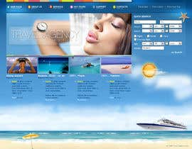 #7 cho LAYOUT FOR  ONLINE TRAVEL AGENCY bởi webdesigne22