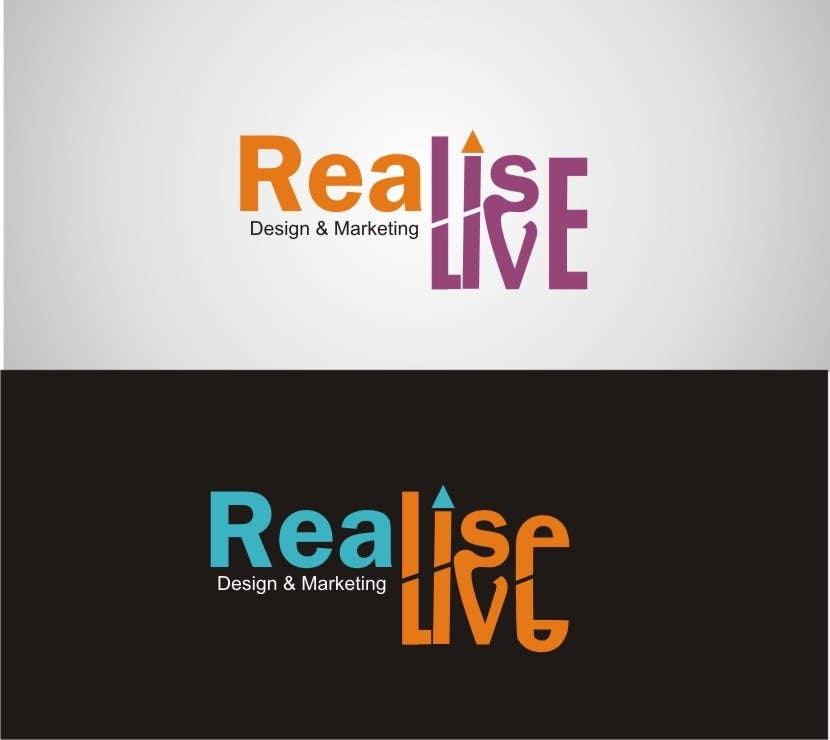 Inscrição nº 175 do Concurso para Logo Design for Realise Live Ltd - Design & Production Agency