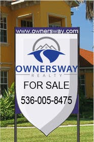 #12 for Ownersway real estate yard sign by IAN255
