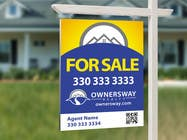 Contest Entry #42 for Ownersway real estate yard sign