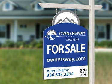 #46 for Ownersway real estate yard sign by NamalPriyakantha