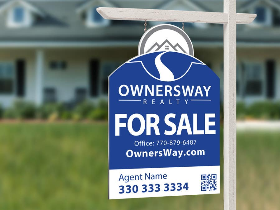 #48 for Ownersway real estate yard sign by NamalPriyakantha