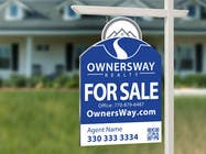Contest Entry #49 for Ownersway real estate yard sign