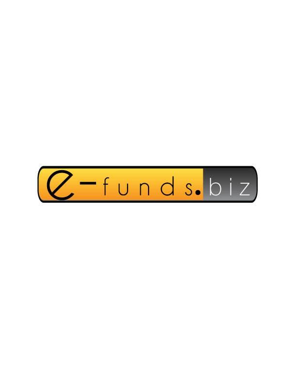 Kilpailutyö #15 kilpailussa Design a Logo for https://e-funds.biz/