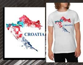 #27 para Design a Croatian fan T-shirt por blackhordes