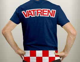 #8 para Design a Croatian fan T-shirt por kupi7