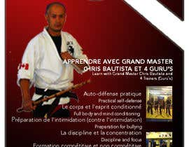 #15 para Design a door hanger/brochure for a Filipino Martial Arts dojo in Montreal por CCARIUSE