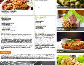nº 3 pour Recipe Website par grafixsoul
