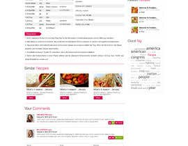 nº 7 pour Recipe Website par ProliSoft