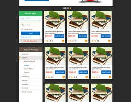 #17 for Design a Website Mockup for Magento e-shop af piratepixel
