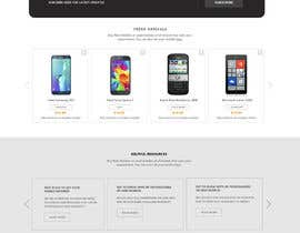 #76 for Design a Website Mockup for a Mobile Device Company by styleworksstudio