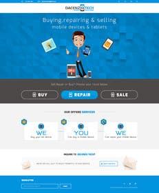 ameet4u tarafından Design a Website Mockup for a Mobile Device Company için no 31