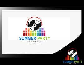 nº 25 pour Summer Party Series Logo par Dreamofdesigners