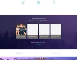 Nro 3 kilpailuun Design a Wordpress Mockup käyttäjältä Nikitazanella