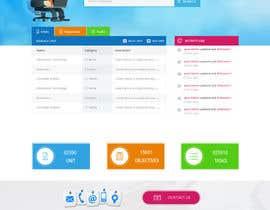 Nro 28 kilpailuun Design a 4-page Website Mockup for a Collaborative website käyttäjältä rajdesign2009