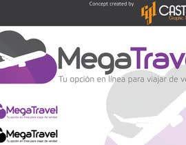 #89 para Diseñar un logotipo  para Agencia de Viajes online por CasteloGD