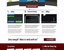 #2 cho Design a Home Page Mockup for my current website bởi andrei11