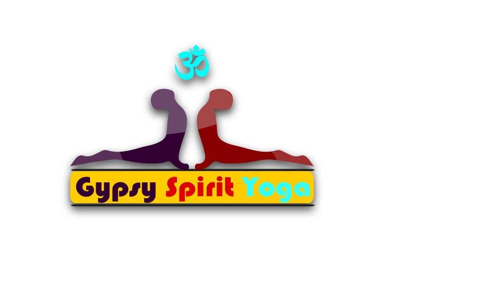 Kilpailutyö #28 kilpailussa Logo for Gypsy Spirit Yoga