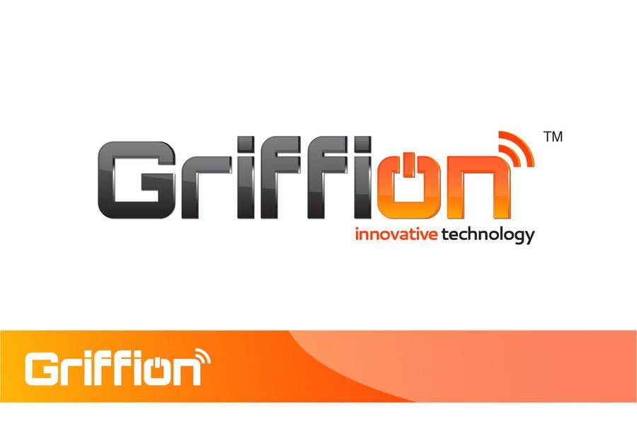 """Inscrição nº                                         395                                      do Concurso para                                         Logo Design for innovative and technology oriented company named """"GRIFFION"""""""