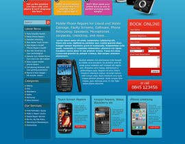 #40 untuk Website needed for cell phone repair shop oleh infotechbizbuzz