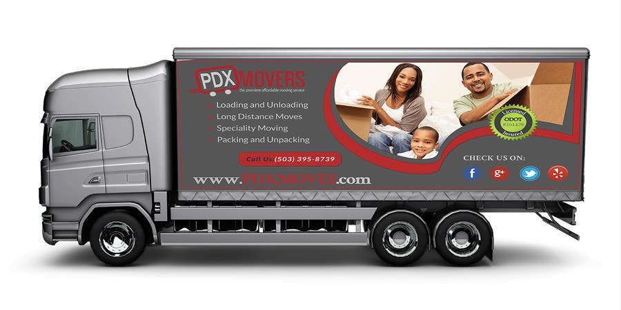 #40 for Box Truck Wrap Design by TnPRO