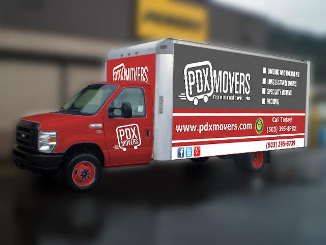 #8 for Box Truck Wrap Design by majajni