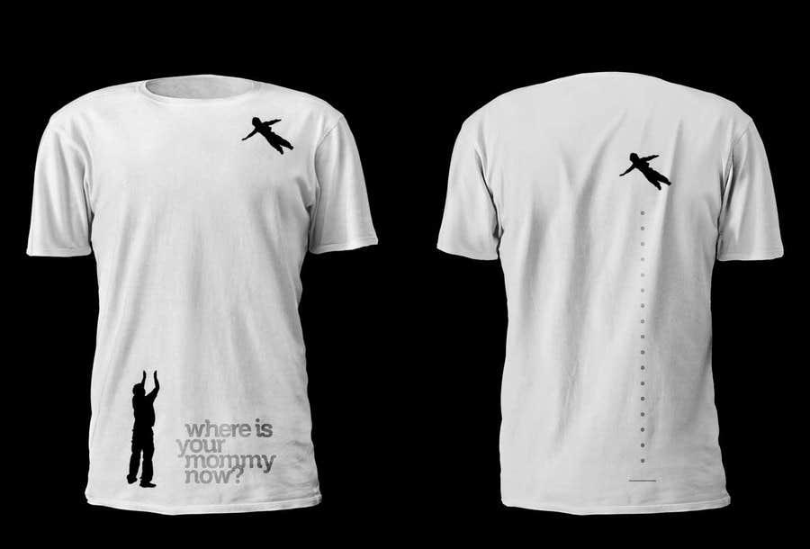 Kilpailutyö #14 kilpailussa Design a T-Shirt for turning my bitterness into art with impact
