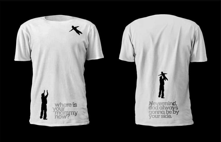 Kilpailutyö #15 kilpailussa Design a T-Shirt for turning my bitterness into art with impact