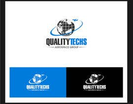 entben12 tarafından Design a Logo for Quality Techs Aerospace Group, Inc. için no 386
