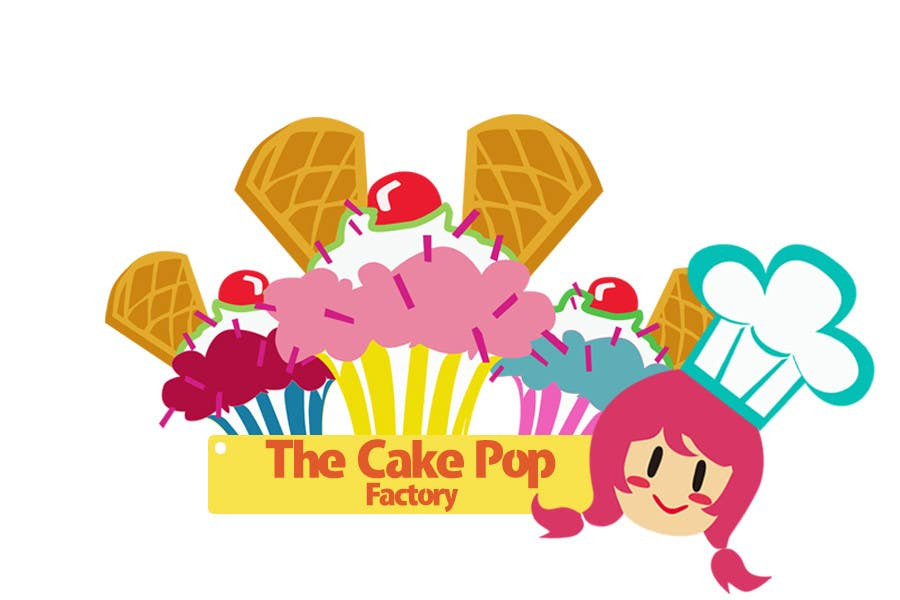 #55 for Logo Design for The Cake Pop Factory by ZenbayMono