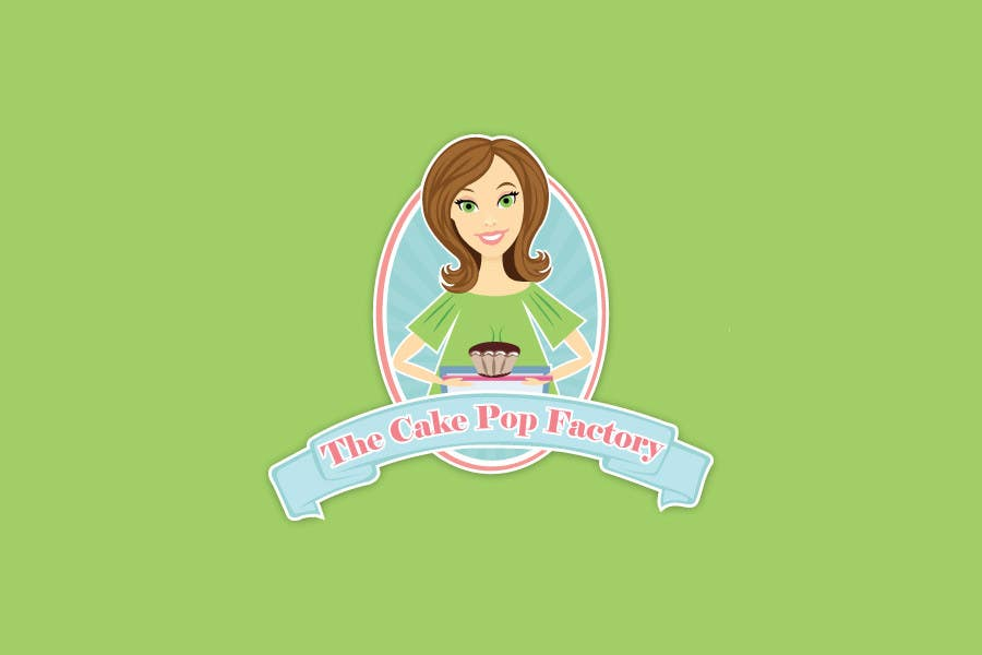 #117 for Logo Design for The Cake Pop Factory by ravijoh